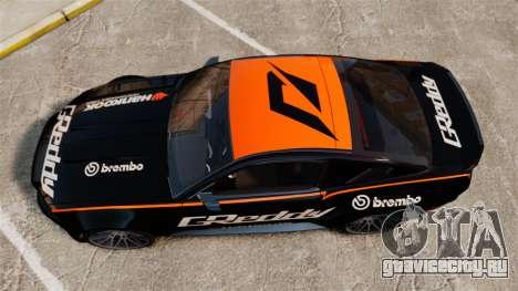 Ford Mustang GT 2013 NFS Edition для GTA 4 вид справа