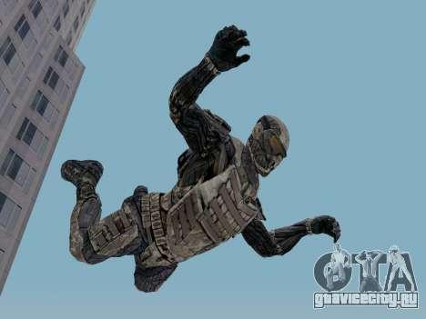 Корейский Нано-Костюм из Crysis для GTA San Andreas третий скриншот