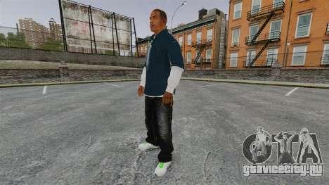 Франклин Клинтон для GTA 4 третий скриншот