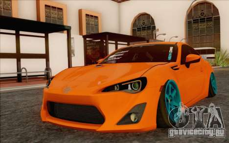Toyota GT86 Lowstance для GTA San Andreas