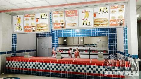 Рестораны McDonalds и Taco Bell для GTA 4 третий скриншот