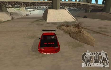 Toyota Soarer для GTA San Andreas вид справа