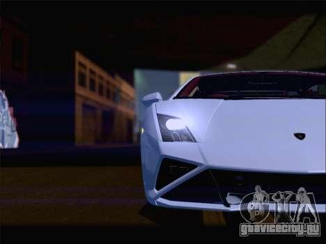 Lamborghini Gallardo 2013 для GTA San Andreas салон