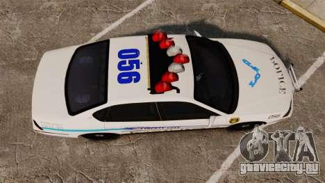 Chevrolet Impala 2003 LCPD для GTA 4 вид справа