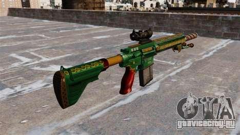Автоматическая винтовка HK417 для GTA 4 второй скриншот