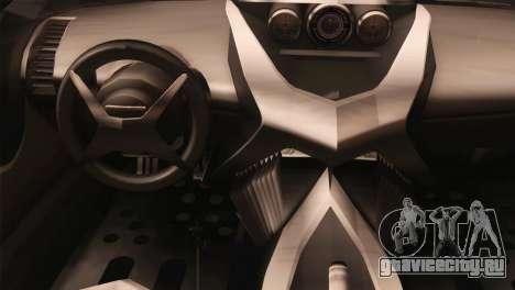 SuperMotoXL CONXERTO v2.0 для GTA San Andreas вид справа
