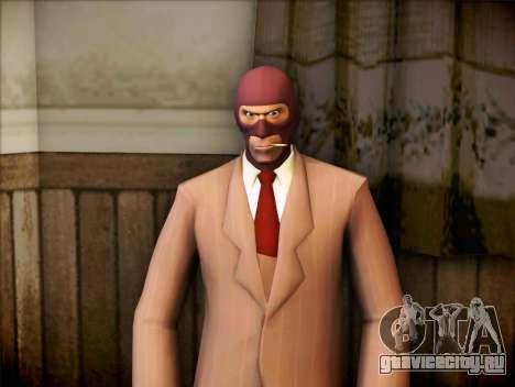 Шпион из Team Fortress 2 для GTA San Andreas
