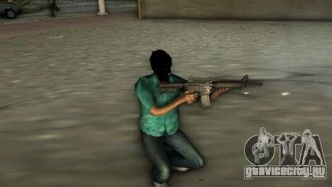 Карабин М4 для GTA Vice City второй скриншот