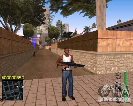 C-HUD v1 для GTA San Andreas