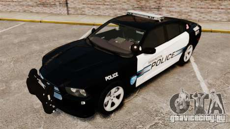 Dodge Charger RT 2012 Police [ELS] для GTA 4 вид изнутри