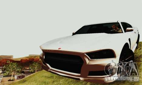 Buffalo из GTA V для GTA San Andreas колёса