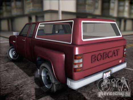 Vapid Bobcat XL из GTA V для GTA San Andreas вид слева