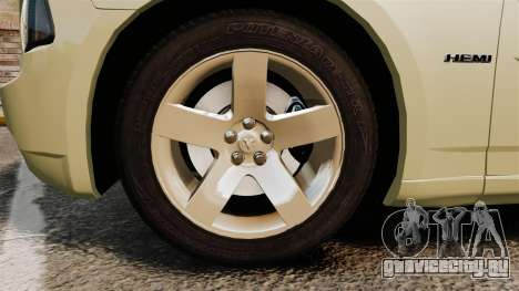 Dodge Charger RT Hemi 2007 для GTA 4 вид сзади