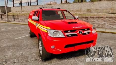 Toyota Hilux FDNY [ELS] для GTA 4
