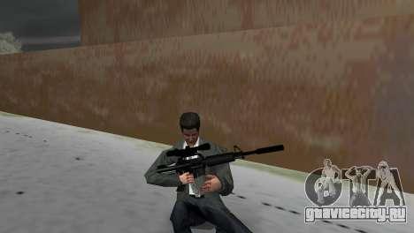 M4 со Снайперским Прицелом для GTA Vice City третий скриншот