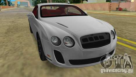 Bentley Continental Extremesports для GTA Vice City