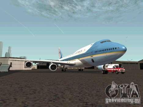 Boeing-747-400 Airforce one для GTA San Andreas