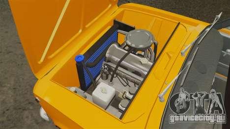 ВАЗ-2101 тюнинг для GTA 4 вид изнутри