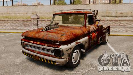 Chevrolet Tow truck rusty Rat rod для GTA 4