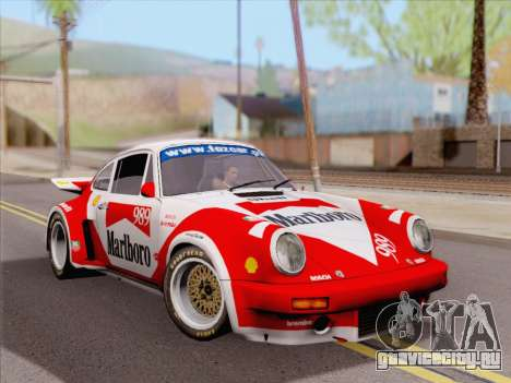 Porsche 911 RSR 3.3 skinpack 4 для GTA San Andreas вид справа