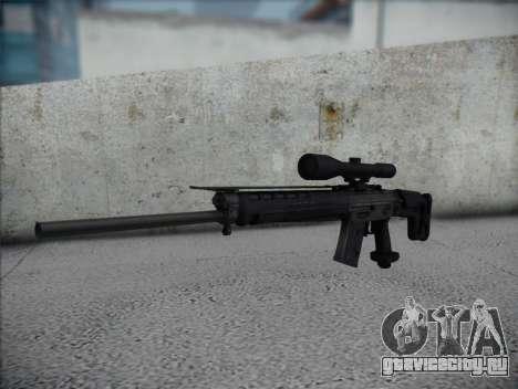 Снайперская Винтовка HD для GTA San Andreas