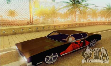 Modified Sabre Low для GTA San Andreas