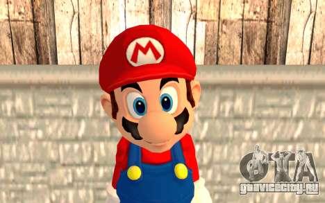 Марио для GTA San Andreas третий скриншот