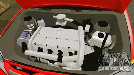 Toyota Hilux British Rapid Fire Cover [ELS] для GTA 4 вид изнутри