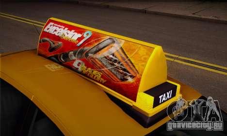 Declasse Premier Taxi для GTA San Andreas вид справа