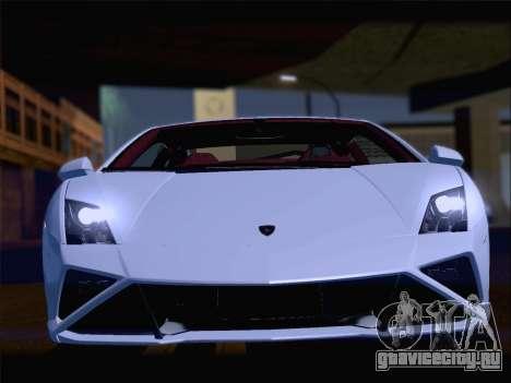 Lamborghini Gallardo 2013 для GTA San Andreas двигатель
