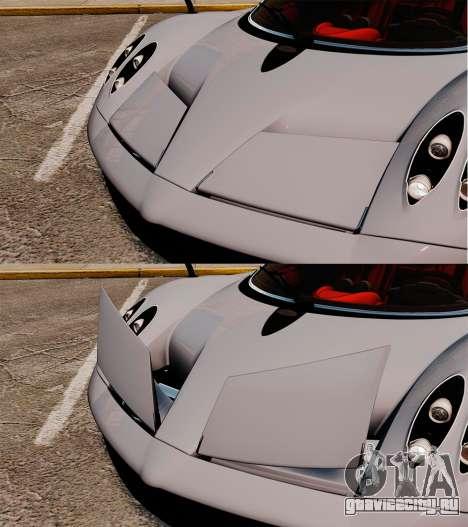 Pagani Huyara [EPM] для GTA 4 салон