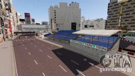 Локация Shibuya для GTA 4 третий скриншот