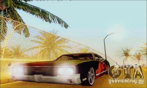 Modified Sabre Low для GTA San Andreas вид сбоку