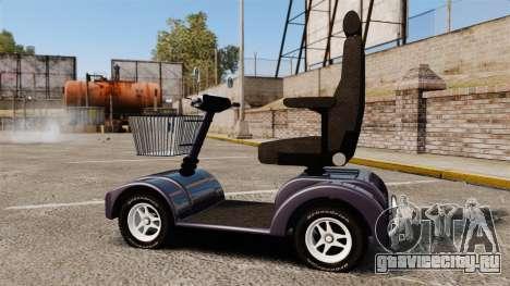 Funny Electro Scooter для GTA 4 вид слева