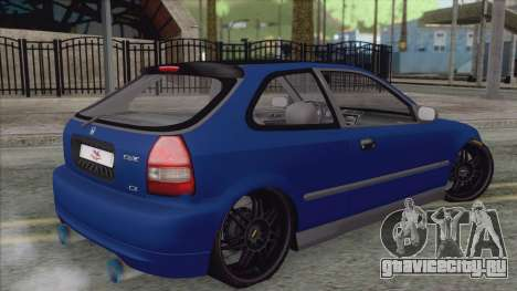 Honda Civic Tuning для GTA San Andreas вид слева