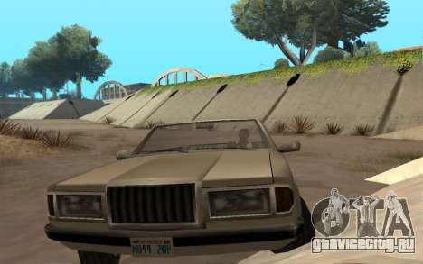 Admiral Cabrio для GTA San Andreas вид справа