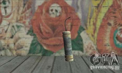 Stick of dynamite из Metro 2033 для GTA San Andreas