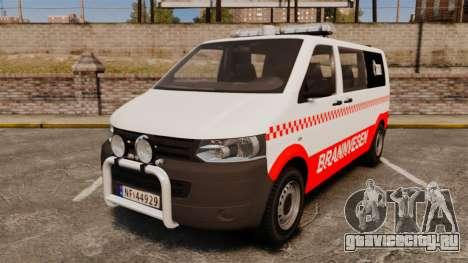 Volkswagen Transporter T5 2010 [ELS] для GTA 4