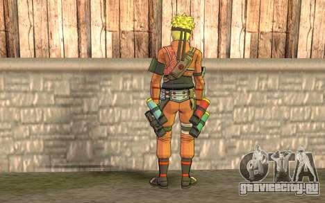 Наруто Райджину для GTA San Andreas второй скриншот