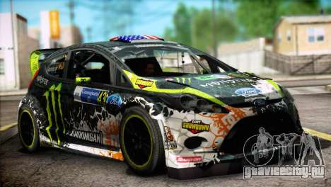 Ford Fiesta RS WRC 2013 для GTA San Andreas