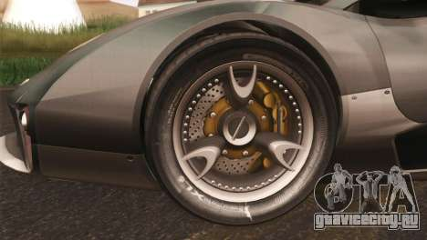 SuperMotoXL CONXERTO v2.0 для GTA San Andreas вид слева