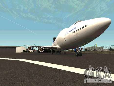 Boeing-747 Dream Lifter для GTA San Andreas