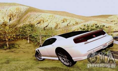 Buffalo из GTA V для GTA San Andreas двигатель