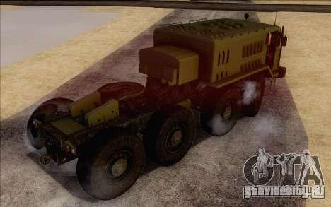 МАЗ 535 Военный для GTA San Andreas вид слева