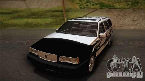 Volvo 850 Estate Turbo 1994 для GTA San Andreas вид сзади
