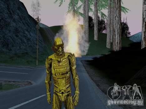 Корейский Нано-Костюм из Crysis для GTA San Andreas