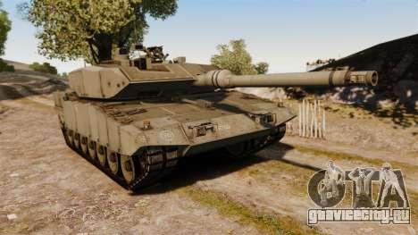 Leopard 2A7 для GTA 4