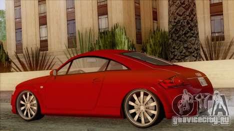 Audi TT 1.8T для GTA San Andreas вид слева