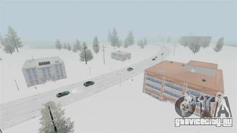 Локация Arctic Wonderland для GTA 4 седьмой скриншот
