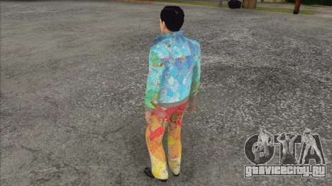 Вито Скаллета в форме Сочи 2014 для GTA San Andreas третий скриншот
